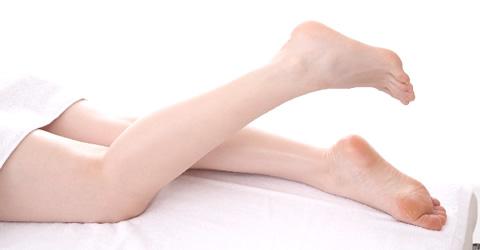 脱毛をお考えの方へ:足全体セット